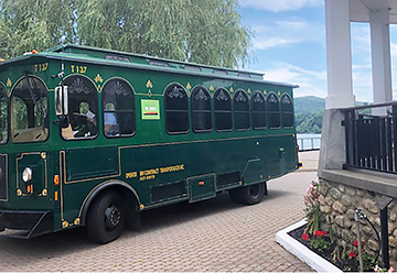 Trolley in Cold Spring New York